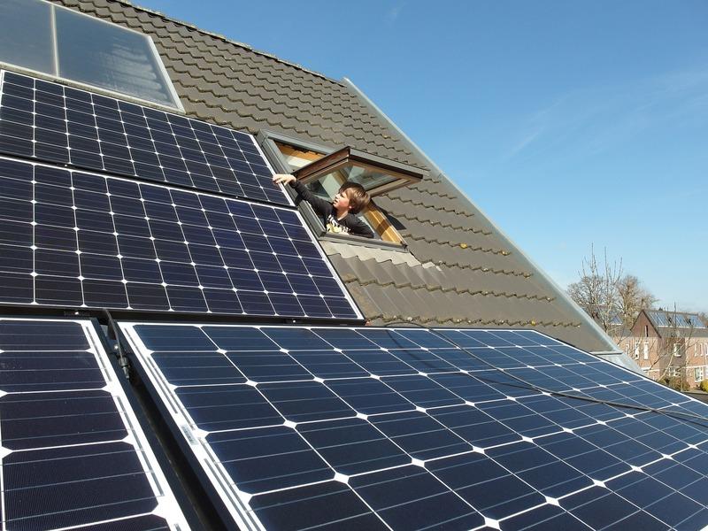 termoconvettore con pannelli solari